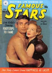 Cover Thumbnail for Famous Stars (Ziff-Davis, 1950 series) #6