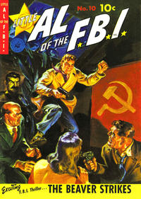 Cover Thumbnail for Little Al of the F.B.I. (Ziff-Davis, 1950 series) #10