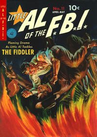 Cover Thumbnail for Little Al of the F.B.I. (Ziff-Davis, 1950 series) #11