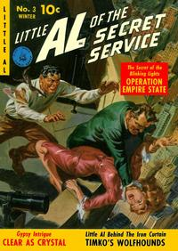 Cover Thumbnail for Little Al of the Secret Service (Ziff-Davis, 1951 series) #3