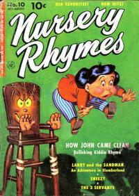 Cover Thumbnail for Nursery Rhymes (Ziff-Davis, 1951 series) #10 [1]