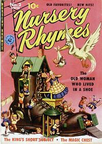 Cover Thumbnail for Nursery Rhymes (Ziff-Davis, 1951 series) #2