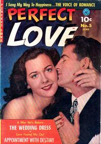 Cover Thumbnail for Perfect Love (Ziff-Davis, 1951 series) #5