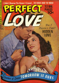 Cover Thumbnail for Perfect Love (Ziff-Davis, 1951 series) #7