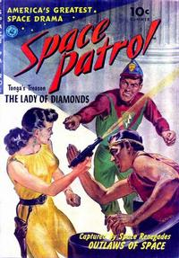Cover Thumbnail for Space Patrol (Ziff-Davis, 1952 series) #1