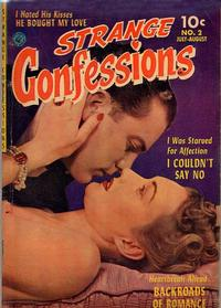 Cover Thumbnail for Strange Confessions (Ziff-Davis, 1952 series) #2