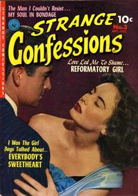 Cover Thumbnail for Strange Confessions (Ziff-Davis, 1952 series) #3