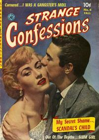 Cover Thumbnail for Strange Confessions (Ziff-Davis, 1952 series) #4