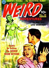 Cover Thumbnail for Weird Adventures (Ziff-Davis, 1951 series) #10