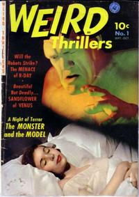 Cover Thumbnail for Weird Thrillers (Ziff-Davis, 1951 series) #1