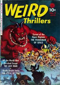 Cover Thumbnail for Weird Thrillers (Ziff-Davis, 1951 series) #2