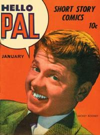 Cover for Hello Pal Comics (Harvey, 1943 series) #1