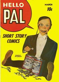 Cover Thumbnail for Hello Pal Comics (Harvey, 1943 series) #2