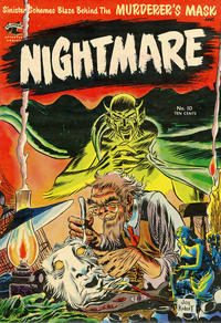 Cover Thumbnail for Nightmare (St. John, 1953 series) #10