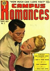 Cover Thumbnail for Campus Romance (Avon, 1949 series) #1