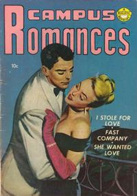 Cover Thumbnail for Campus Romances (Avon, 1953 series)