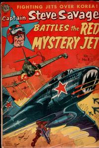 Cover Thumbnail for Captain Steve Savage (Avon, 1950 series) #8