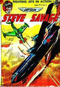 Cover Thumbnail for Captain Steve Savage (Avon, 1954 series) #5