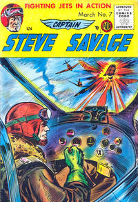 Cover Thumbnail for Captain Steve Savage (Avon, 1954 series) #7