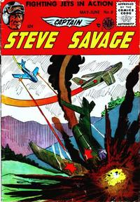 Cover Thumbnail for Captain Steve Savage (Avon, 1954 series) #8