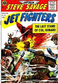Cover Thumbnail for Captain Steve Savage (Avon, 1954 series) #12