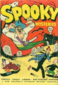 Cover Thumbnail for Spooky Mysteries (Lev Gleason, 1946 series) #1