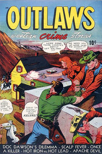 Cover Thumbnail for Outlaws (D.S. Publishing, 1948 series) #v1#2
