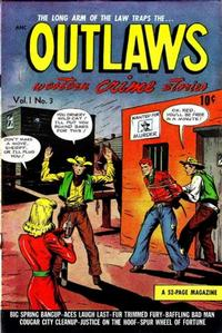 Cover Thumbnail for Outlaws (D.S. Publishing, 1948 series) #v1#3