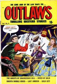 Cover Thumbnail for Outlaws (D.S. Publishing, 1948 series) #v1#6