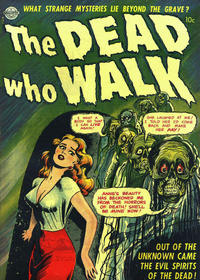 Cover Thumbnail for The Dead Who Walk (Avon, 1952 series)