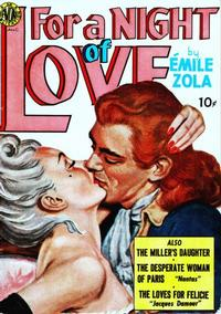 Cover Thumbnail for For a Night of Love (Avon, 1951 series)