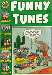 Cover Thumbnail for Funny Tunes (Avon, 1953 series) #3