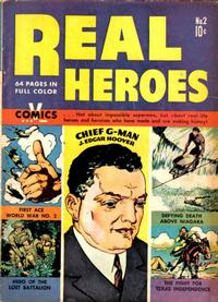 Cover Thumbnail for Real Heroes (Parents' Magazine Press, 1941 series) #2