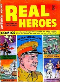 Cover Thumbnail for Real Heroes (Parents' Magazine Press, 1941 series) #3