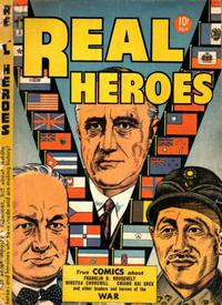 Cover Thumbnail for Real Heroes (Parents' Magazine Press, 1941 series) #4