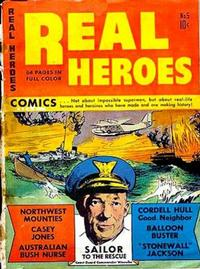 Cover Thumbnail for Real Heroes (Parents' Magazine Press, 1941 series) #5