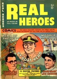 Cover Thumbnail for Real Heroes (Parents' Magazine Press, 1941 series) #6
