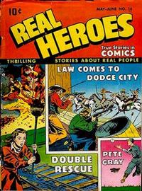 Cover Thumbnail for Real Heroes (Parents' Magazine Press, 1941 series) #14