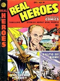 Cover Thumbnail for Real Heroes (Parents' Magazine Press, 1941 series) #16