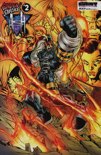 Cover Thumbnail for Ash: Cinder & Smoke (Event Comics, 1997 series) #2 [Cover by Humberto Ramos]