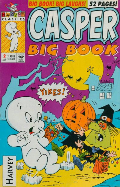 Cover for Casper Big Book (Harvey, 1992 series) #2