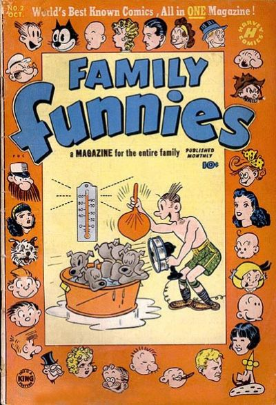 Cover for Family Funnies (Harvey, 1950 series) #2