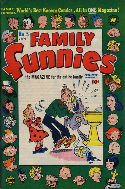 Cover for Family Funnies (Harvey, 1950 series) #5