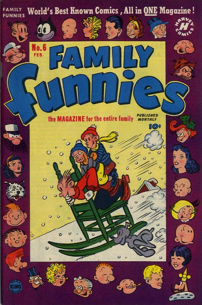 Cover for Family Funnies (Harvey, 1950 series) #6