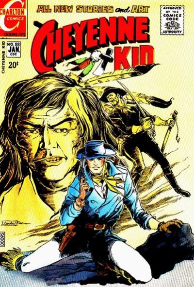 Cover for Cheyenne Kid (Charlton, 1957 series) #88