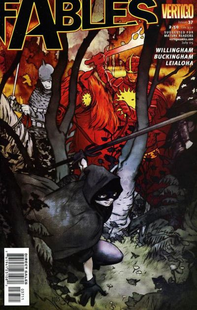 Cover for Fables (DC, 2002 series) #37