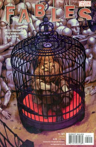 Cover for Fables (DC, 2002 series) #40