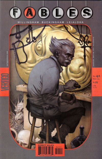 Cover for Fables (DC, 2002 series) #41