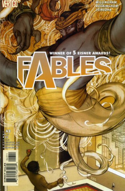 Cover for Fables (DC, 2002 series) #43
