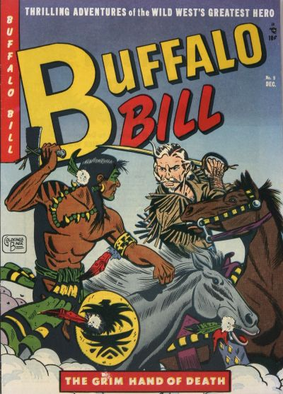 Cover for Buffalo Bill (Youthful, 1950 series) #9